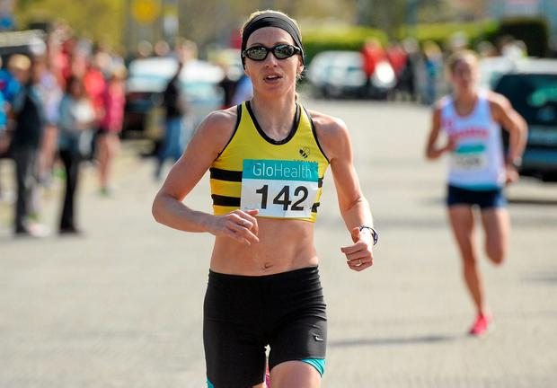 Lizzie Lee carved more than five minutes off her previous best of 2:38.09 – well inside the Olympic mark of 2:42.00