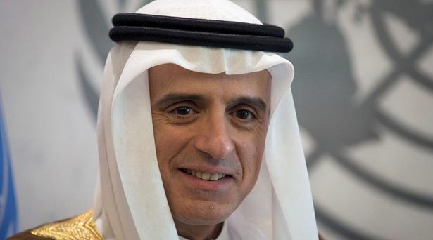 Saudi Foreign Minister Adel Al-Jubeir Credit: Reuters