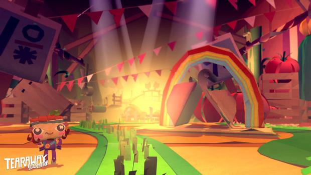 Tearaway Unfolded - All the pretty colours of the rainbow