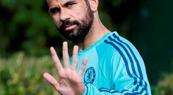 Chelsea's Diego Costa returns to face Spanish teammate Casillas