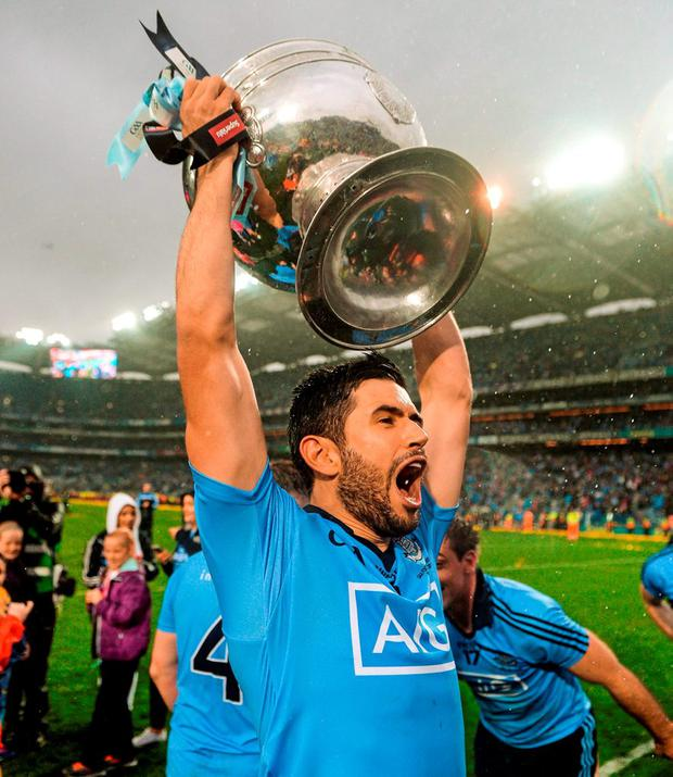 Dublin's Cian O'Sullivan recovered from his injury in time for the final