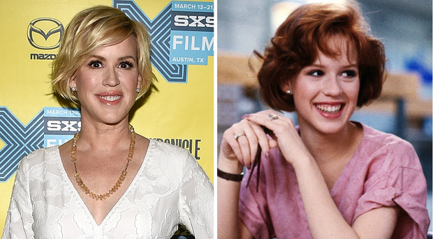 Now vs Then - Molly Ringwald