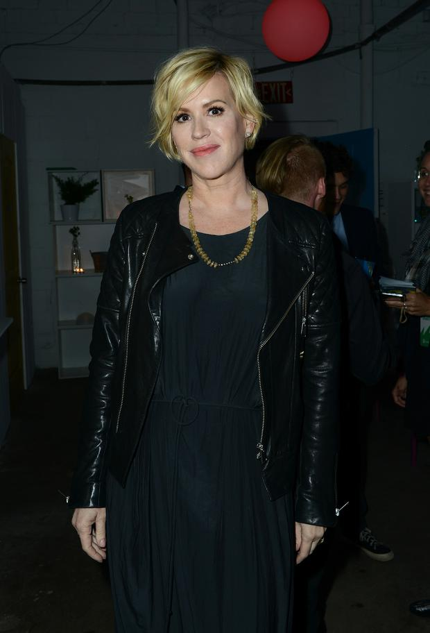 Molly Ringwald attends Marie Claire Celebrates HBO's VEEP With Dinner Hosted By Spotify on March 16, 2015 in Austin, Texas.