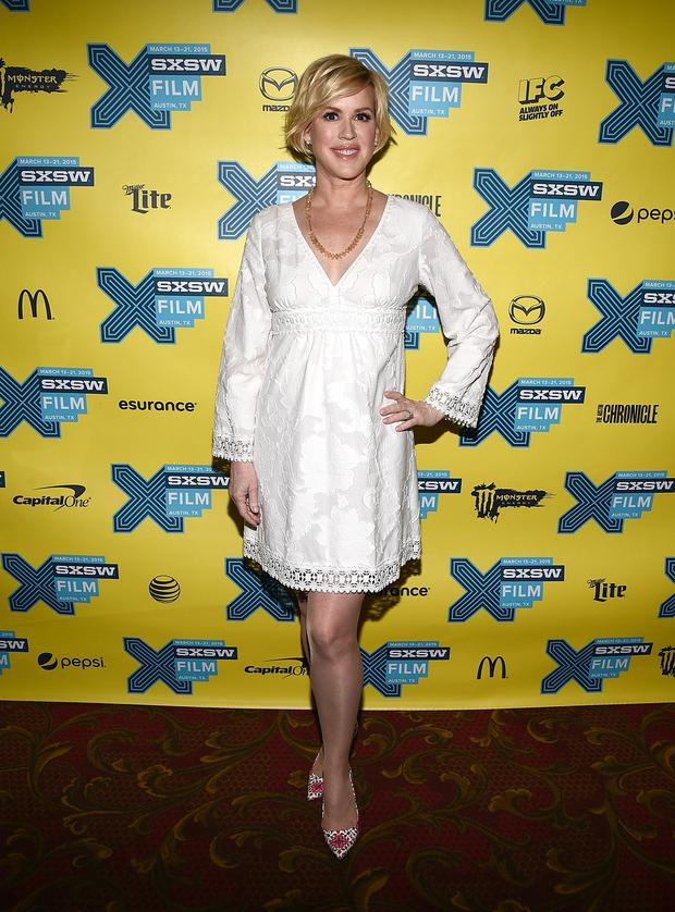 Molly Ringwald at the 30th anniversary screening of The Breakfast Club