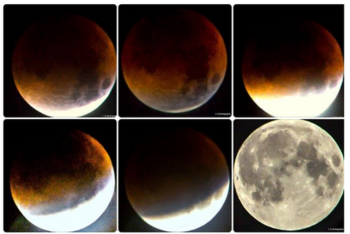 Lalin's pics of the moon.
