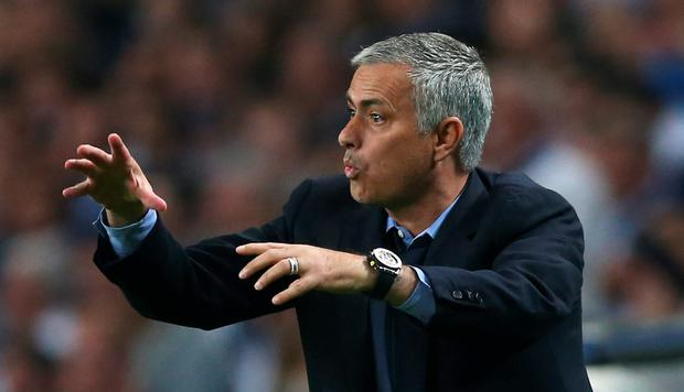 Football - FC Porto v Chelsea - UEFA Champions League Group Stage - Group G - Dragao Stadium, Oporto, Portugal - 29/9/15 Chelsea manager Jose Mourinho Action Images via Reuters / Matthew Childs Livepic EDITORIAL USE ONLY.