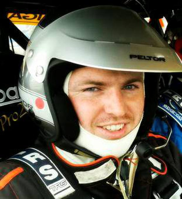 Rally driver Ryan Bradley