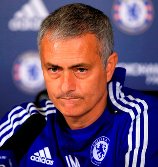Jose Mourinho (pictured) has still not dropped Branislav Ivanovic despite the player's run of poor form