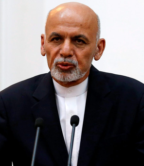 Facing setback: Afghanistan's President Ashraf Ghani REUTERS/Mohammad Ismail