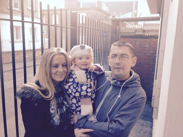Dearbhla Leahy with Noel Winterlich and daughter Amber
