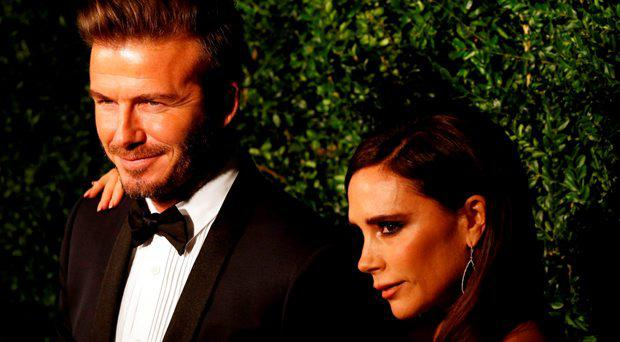 David and Victoria Beckham, he bought her a bottle of tequila as a gift from Mexico when he was on location in Mexico City shooting a promo film called Outlaws
