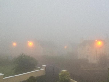 Donegal this morning Credit: Twitter/@watchallirish