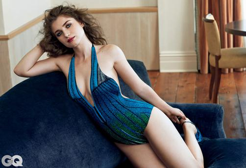 Eve Hewson shot for GQ, exclusively by Bjorn Iooss