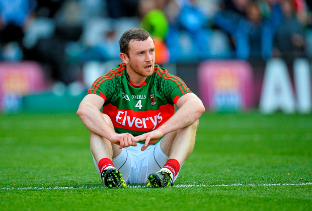 Board officials and the management duo were aiming to press captain Keith Higgins (pictured) and vice-captain Cillian O'Connor on the reasons as to why faith has been lost
