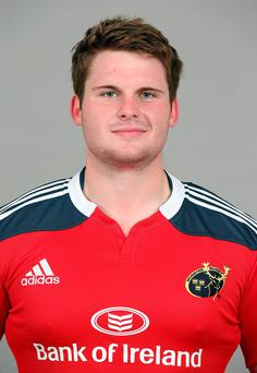 Niall Horan is in his third year at the Munster Rugby Academy