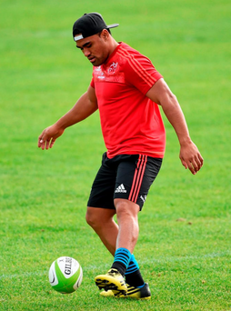 Francis Saili has been a superb addition to the Munster squad on and off the pitch