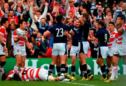 Japan had to play two games in four days and suffered for it against Scotland