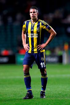 Robin Van Persie: new colours