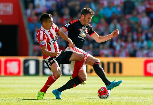 Michael Carrick is fit to face Arsenal on Sunday