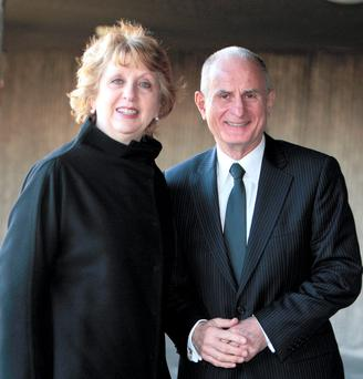 Mary and Dr Martin McAleese