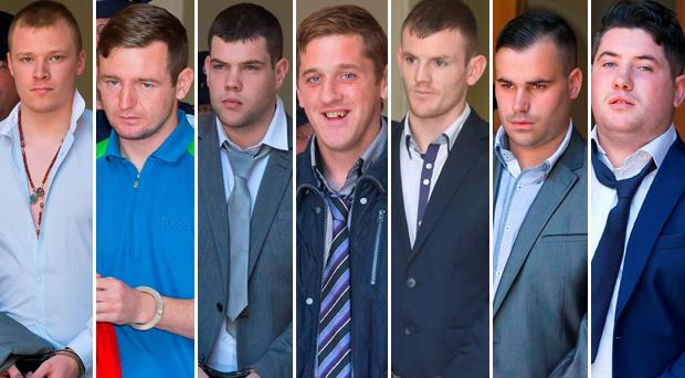 Seven members of the gang that subjected the Corcoran family to a terrifying ordeal in their rural home