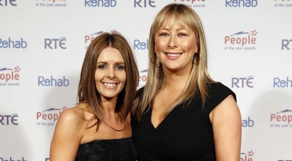 Jenny Greene and her fiancée Kelly Keogh at the People of the Year Awards. Picture: Robbie Reynolds