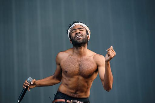 LONDON, ENGLAND - JULY 04: Childish Gambino performs on Day 2 of the New Look Wireless Festival at Finsbury Park on July 3, 2015 in London, England. (Photo by Joseph Okpako/Redferns via Getty Images)