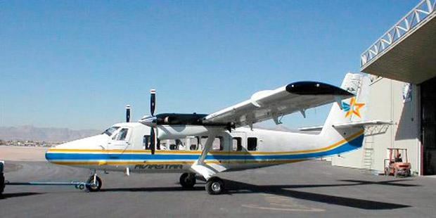 A Twin Otter light plane, the same model of aircraft that has gone missing