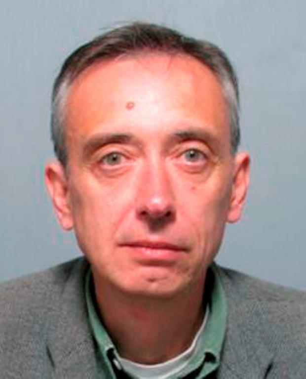 The former criminal law lecturer at the University of East Anglia in Norwich, disappeared from Ipswich Crown Court on Wednesday afternoon. Photo credit: Suffolk Police/PA Wire