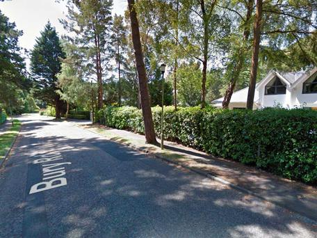 The tragic incident occurred on the affluent Bury Road in Branksome, Poole (Photo: Google Maps)