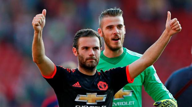 Can Manchester United's Juan Mata find the net this weekend?