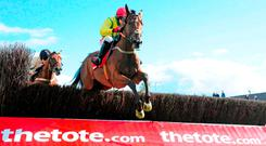Shanahan's Turn and Jonathan Burke will bid to follow up their Galway Plate success in July with victory at Gowran Park today