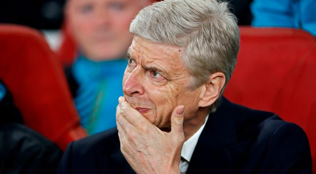 Arsenal manager Arsene Wenger is under pressure after two disappointing Champions League results