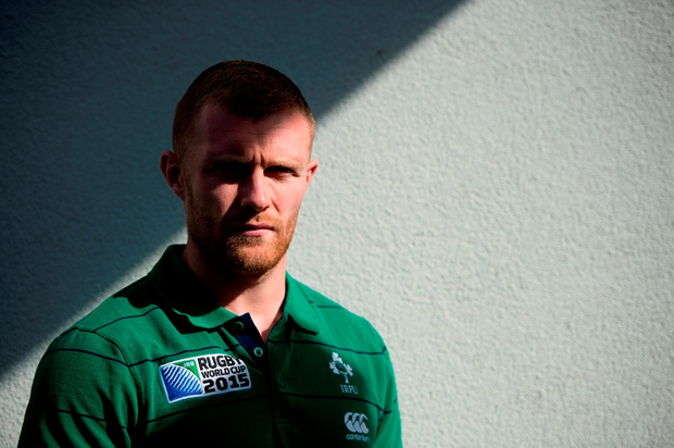 Ireland's Keith Earls will partner Robbie Henshaw in midfield against Italy tomorrow