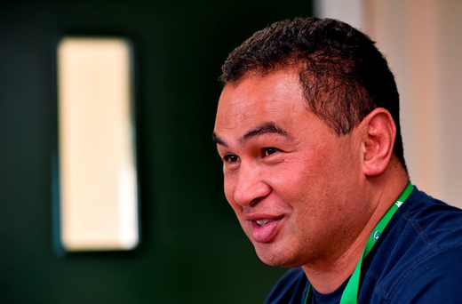 Connacht's heah coach Pat Lam