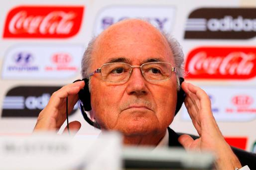 Sepp Blatter: controversial FIFA chief is refusing to bow to sponsor demands to go now