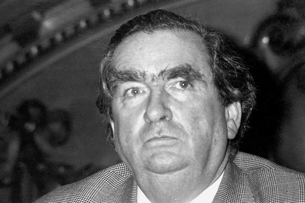 File photo dated 11/01/1979 of former Labour chancellor Denis Healey who died peacefully in his sleep this morning at his home in Sussex, his family said. PA Wire