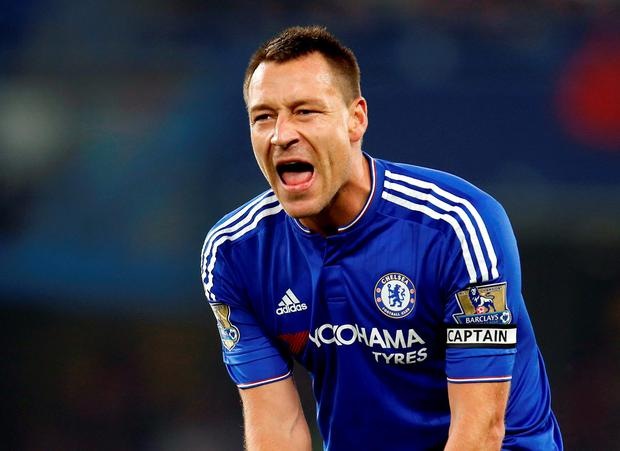 Chelsea??s John Terry during the Barclays Premier League match at Stamford Bridge, London. Jed Leicester/PA Wire.