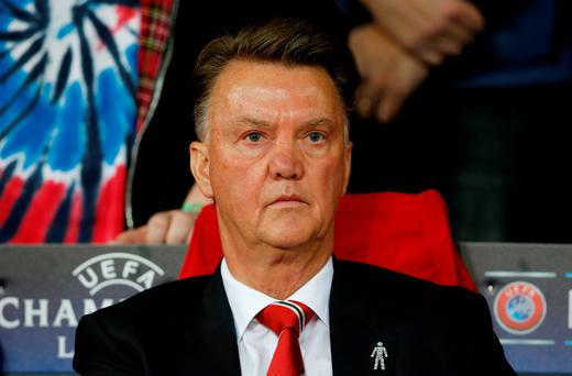 Van Gaal: Insists progress is being made