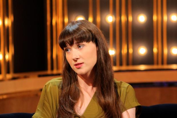Niamh Ni Dhomhnaill on the Ray D'Arcy programme on RTE One tonight Pic: RTE