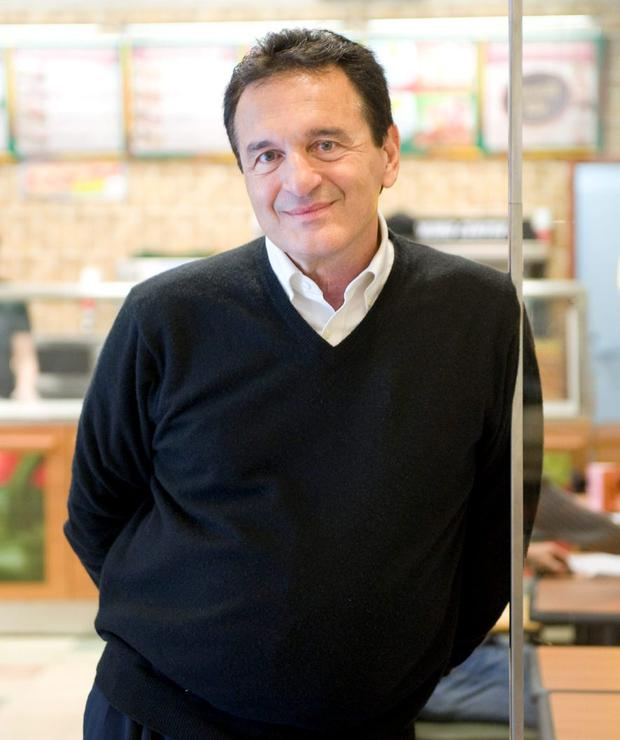 Fred DeLuca, President and founder of sandwich maker Subway, has died of leukaemia aged 67