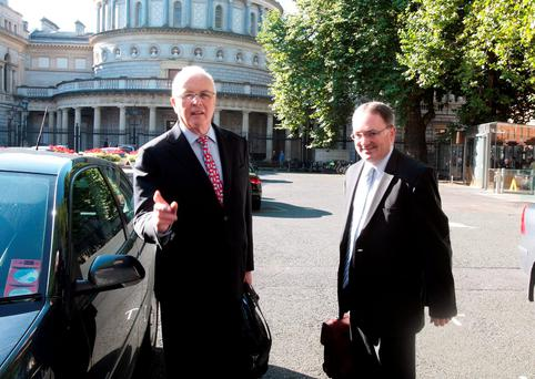 NORTHERN EXPOSURE: Nama's chairman Frank Daly and its chief executive Brendan McDonagh have much to answer over the Project Eagle property deal