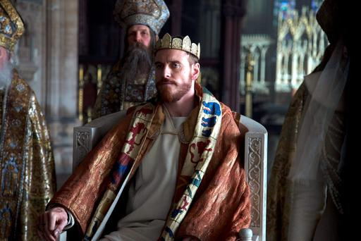 THE CROWN AWAITS: Michael Fassbender is getting rave reviews for 'Macbeth'