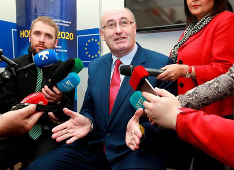 FEVER PITCH: Election date hype was ratcheted up last week after Phil Hogan intimated to a group of visiting Fine Gaelers in Brussels that it'd be November