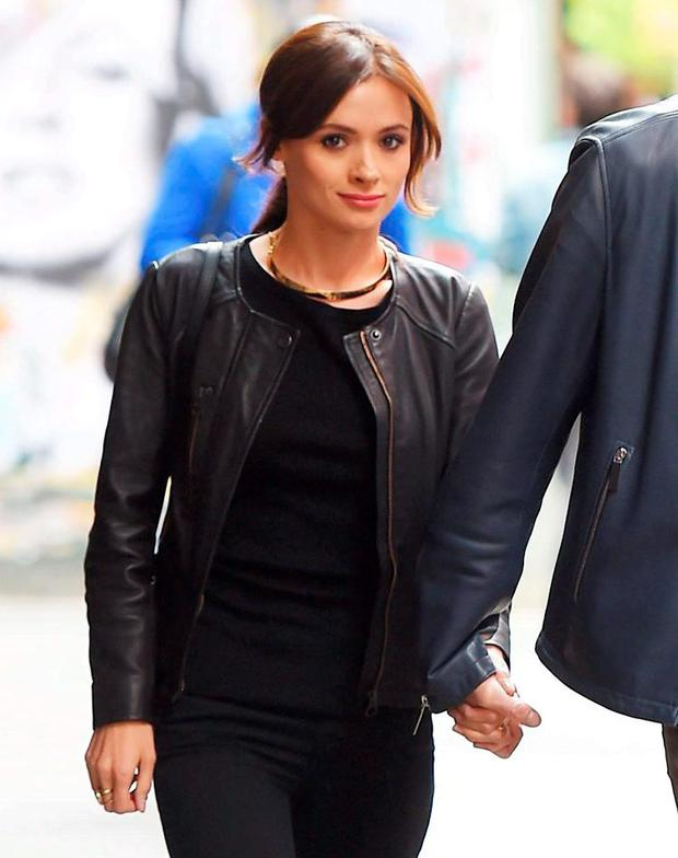 Jim Carrey Tweets Beautiful Image Of Cathriona White With