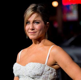 INTENSE SCRUTINY: Actress Jennifer Aniston