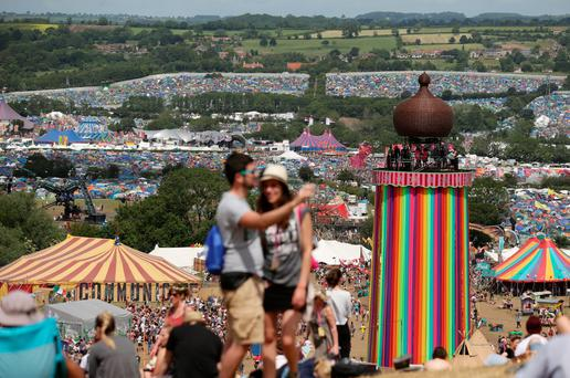 Glastonbury - there are rumours Adele and Coldplay could headline next year