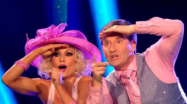 Daniel O'Donnell and Kristina Rihanoff on Strictly Come Dancing