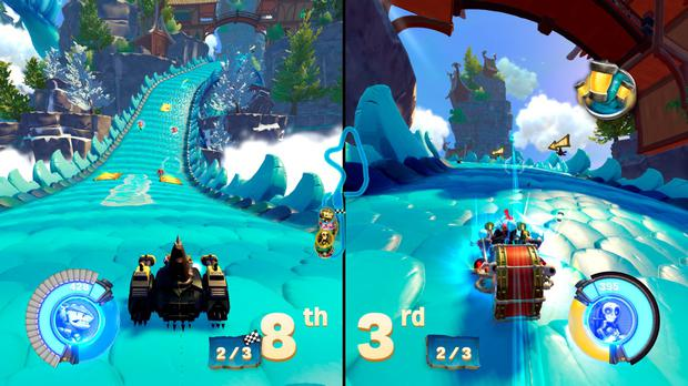 Skylanders: Superchargers - Two-player co-op racing ahoy.