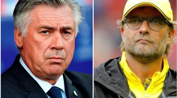 Ancelotti and Klopp are front runners for the Liverpool job